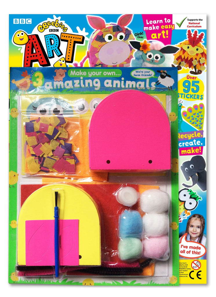 CBeebies Art Magazine - Issue 158 Magazine 5 Minute Fun Shop
