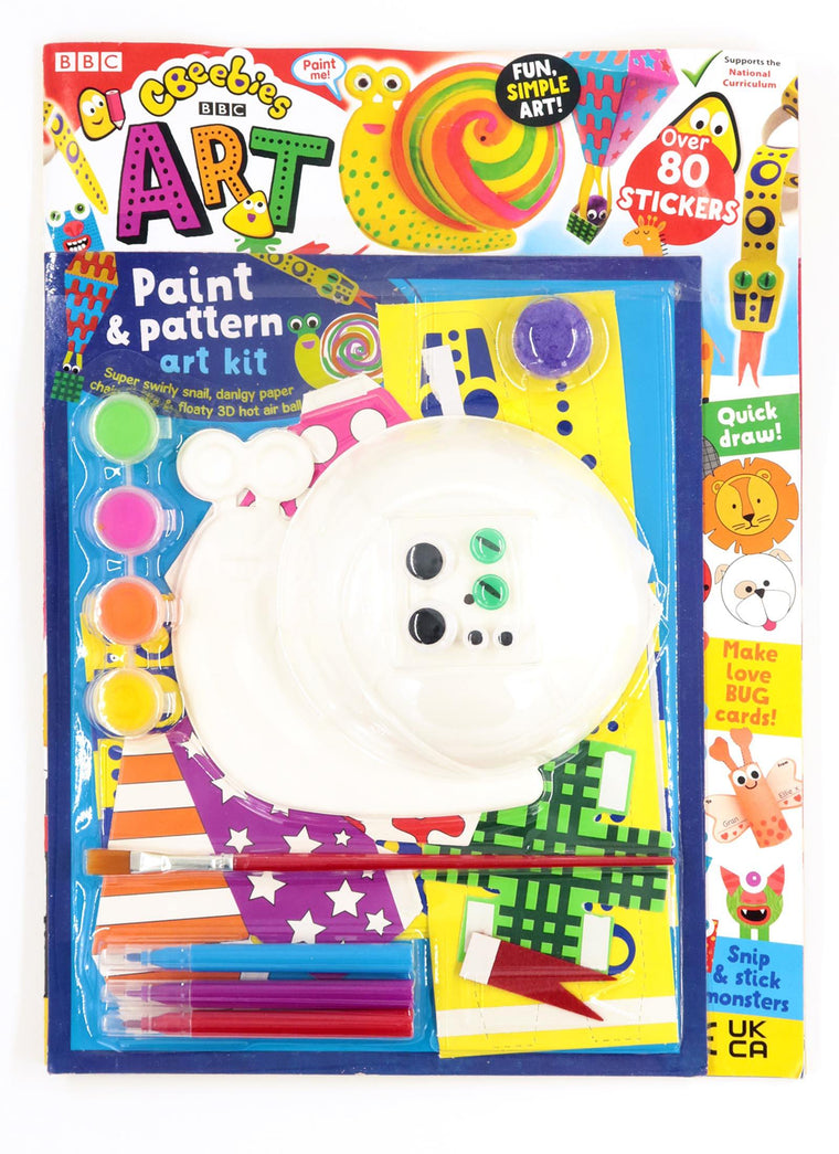 CBeebies Art Magazine - Issue 163 Magazine 5 Minute Fun Shop