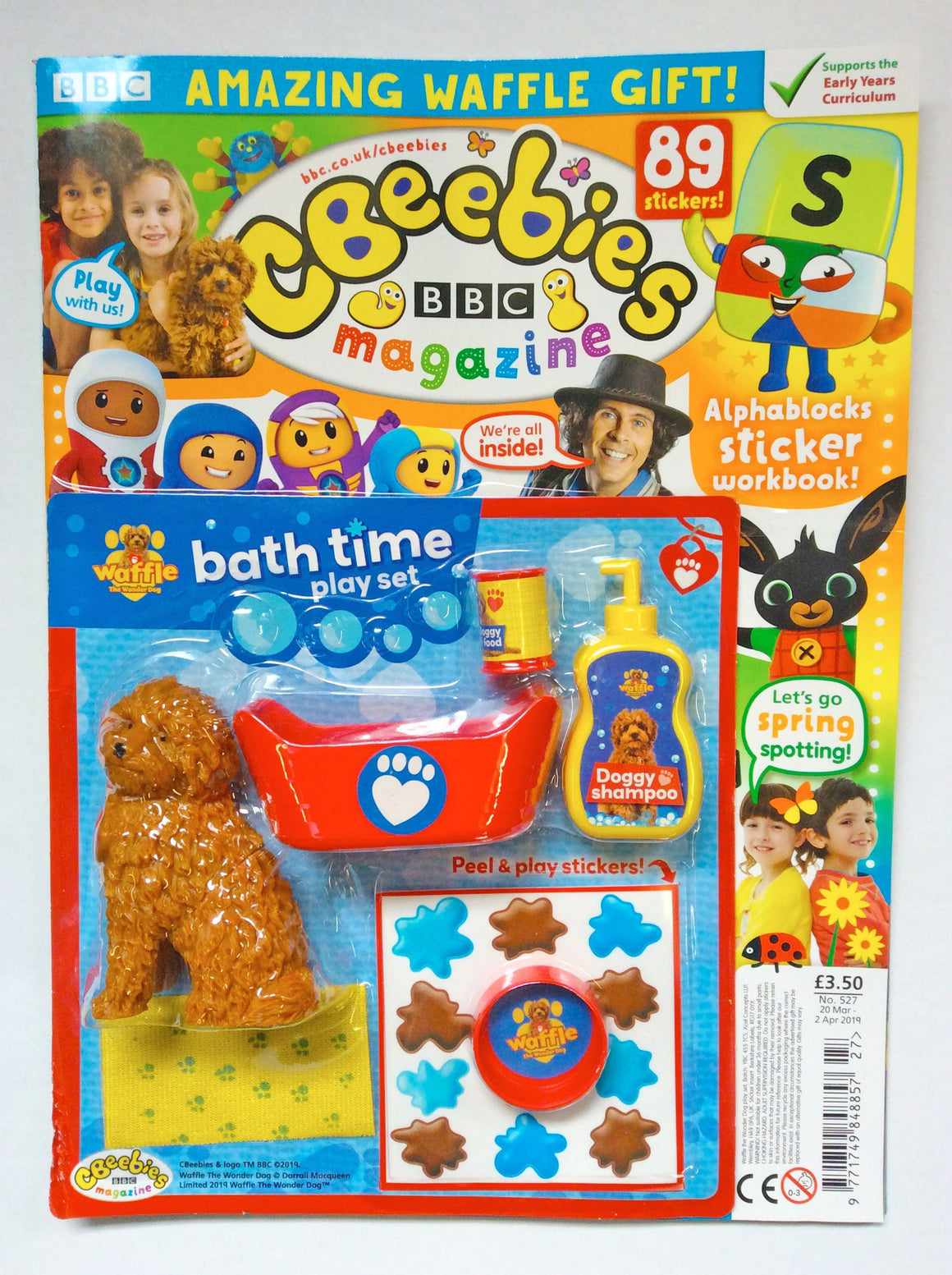 Cbeebies Magazine Issue 527 Magazine IMC New Stock
