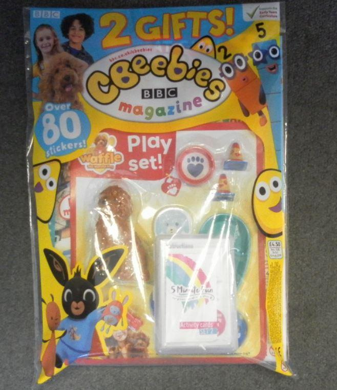 CBEEBIES MAGAZINE ISSUE 536 - GIFTED Magazine 5 Minute Fun Shop