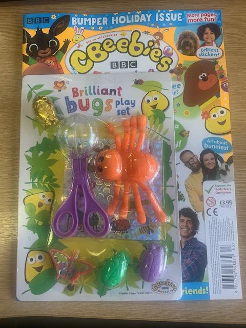 Cbeebies Magazine Issue 553 Magazine IMC New Stock