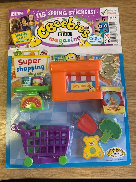 Cbeebies Magazine Issue 554 Magazine IMC New Stock