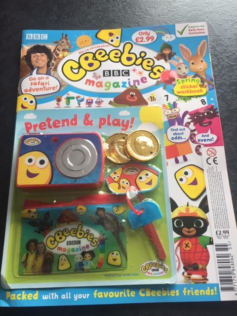 Cbeebies Magazine Issue 555 Magazine IMC New Stock