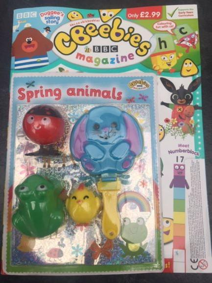 Cbeebies Magazine Issue 556 Magazine IMC New Stock