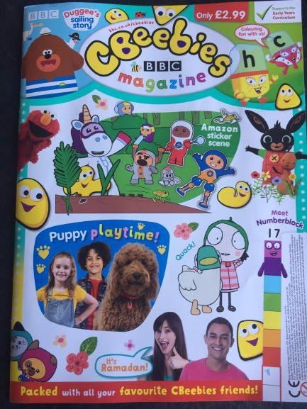 Cbeebies Magazine Issue 556 Ungifted Magazine IMC New Stock