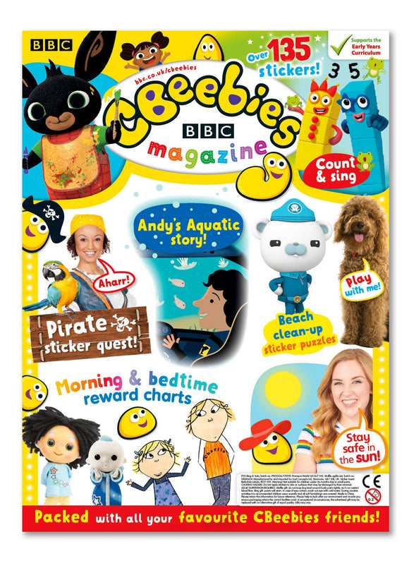 CBeebies Magazine Issue 557 Ungifted Magazine IMC New Stock