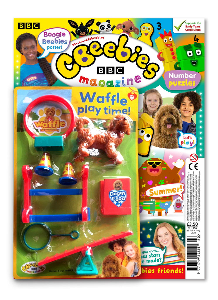 CBeebies Magazine Issue 560 Magazine IMC New Stock
