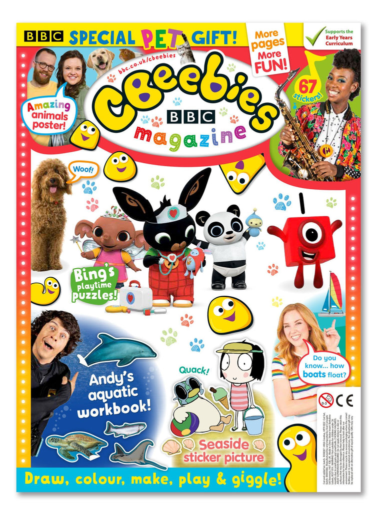 CBeebies Magazine Issue 561 Ungifted Magazine IMC New Stock
