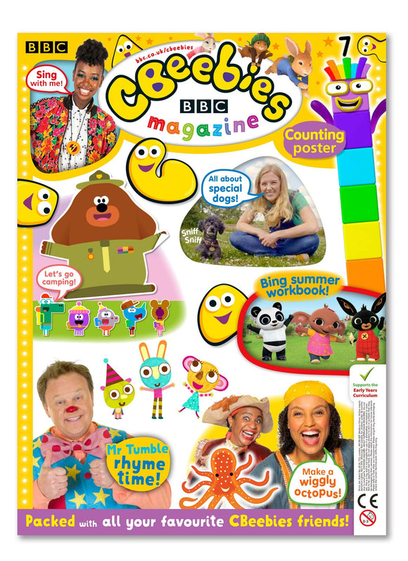 CBeebies Magazine Issue 562 Ungifted Magazine IMC New Stock