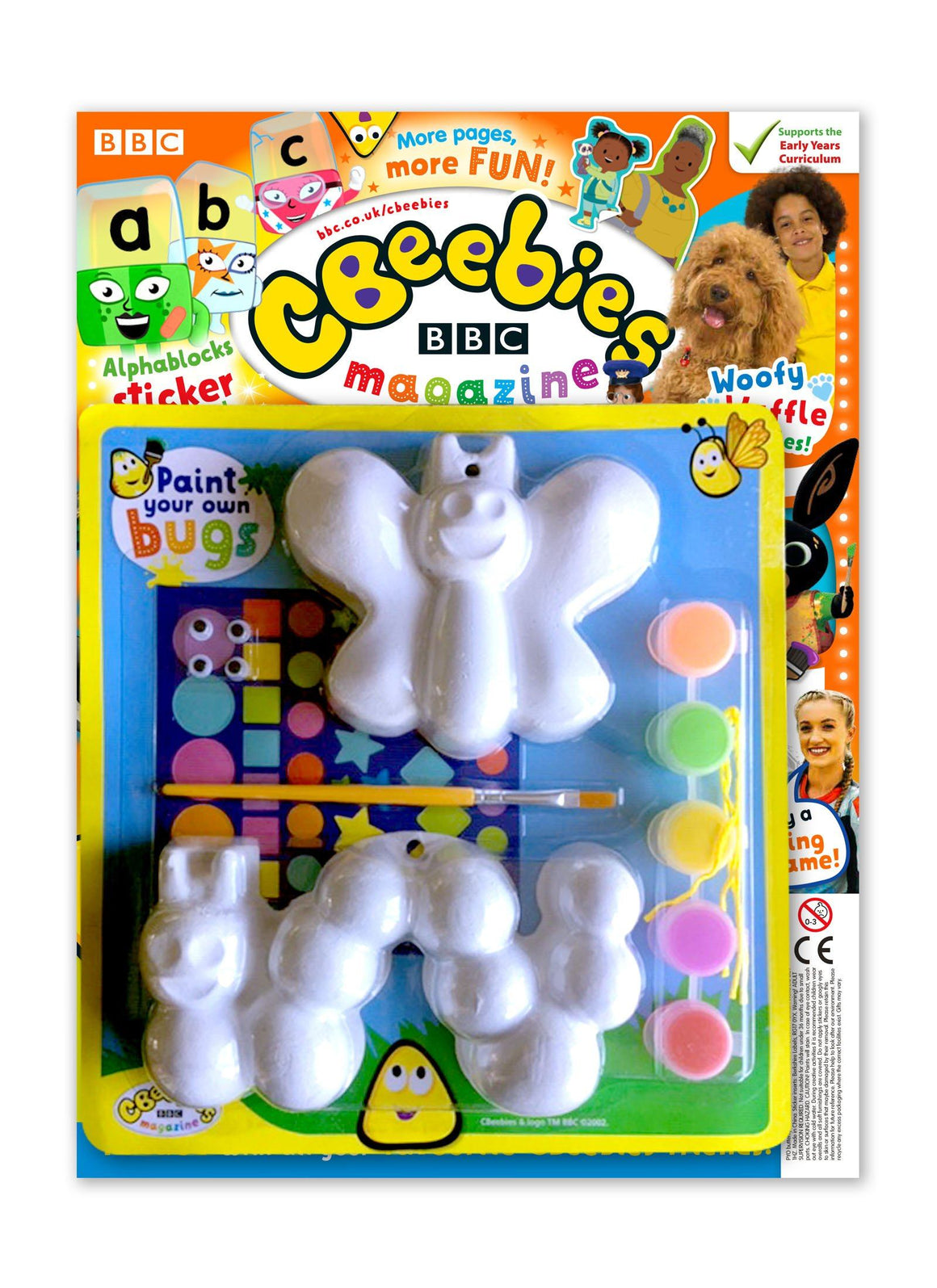 CBeebies Magazine Issue 563 Magazine IMC New Stock