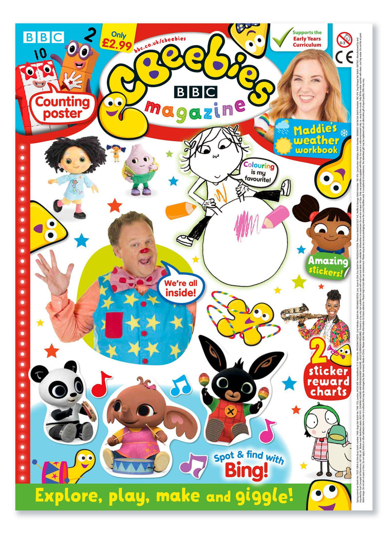 CBeebies Magazine Issue 564 Ungifted Magazine IMC New Stock