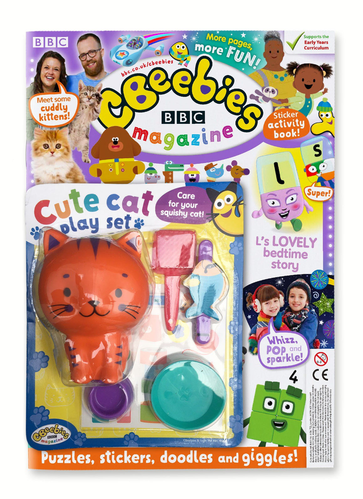 CBeebies Magazine Issue 567 Magazine IMC New Stock