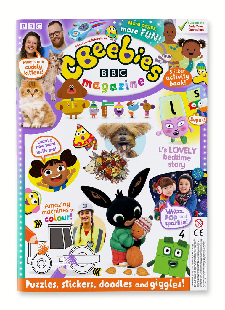 CBeebies Magazine Issue 567 Ungifted Magazine IMC New Stock