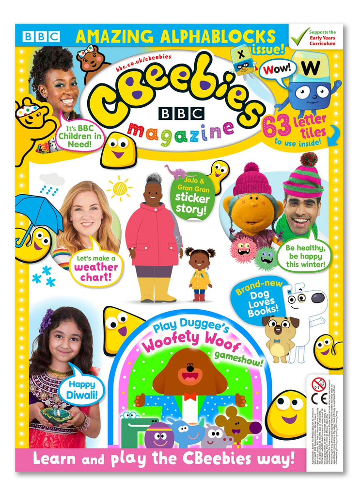 CBeebies Magazine Issue 568 Ungifted Magazine IMC New Stock