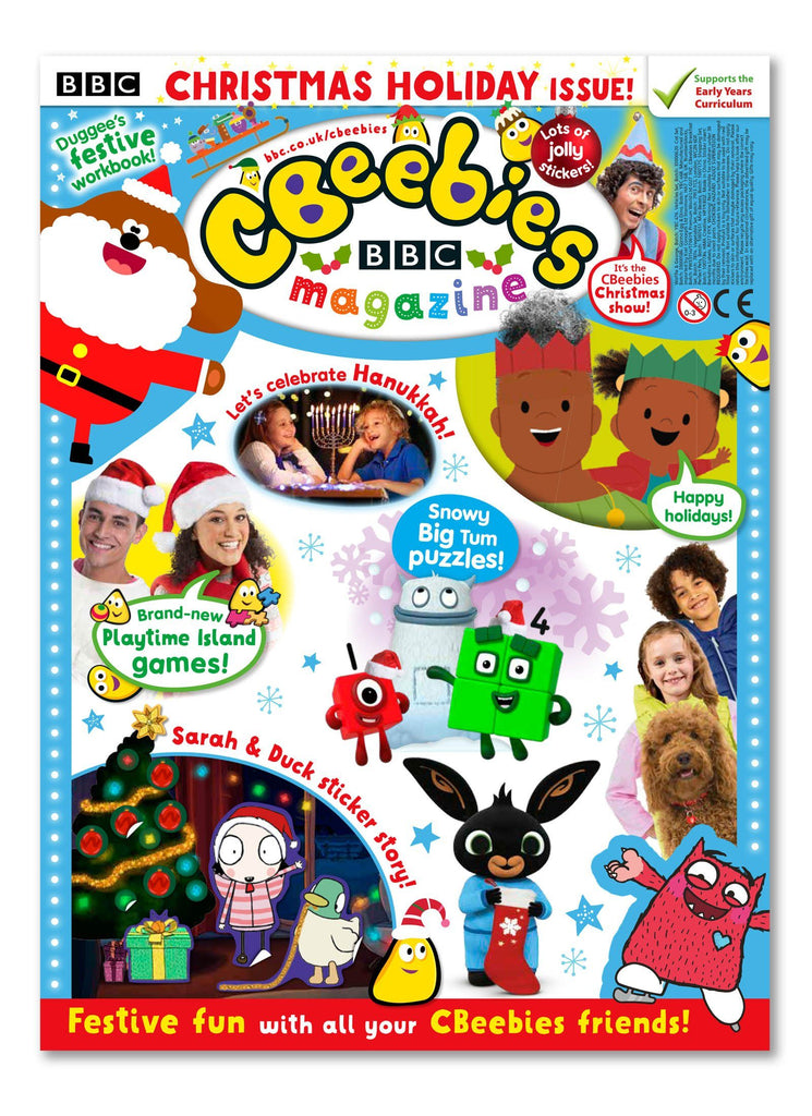 CBeebies Magazine Issue 570 Ungifted Magazine 5 Minute Fun Shop