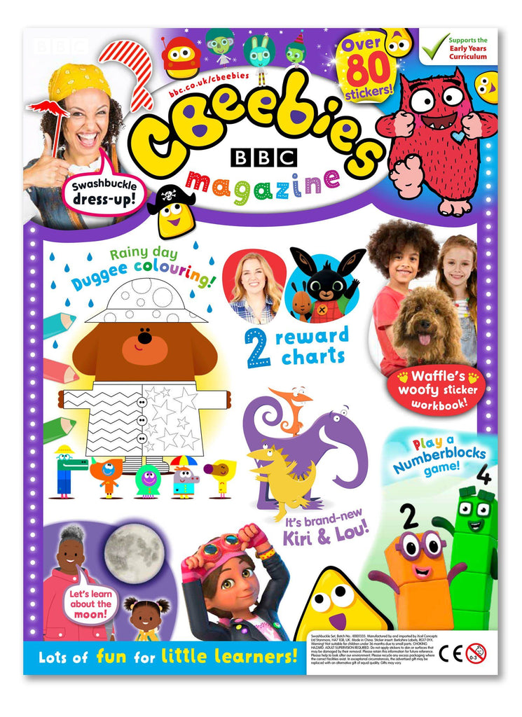CBeebies Magazine Issue 572 Ungifted Magazine 5 Minute Fun Shop