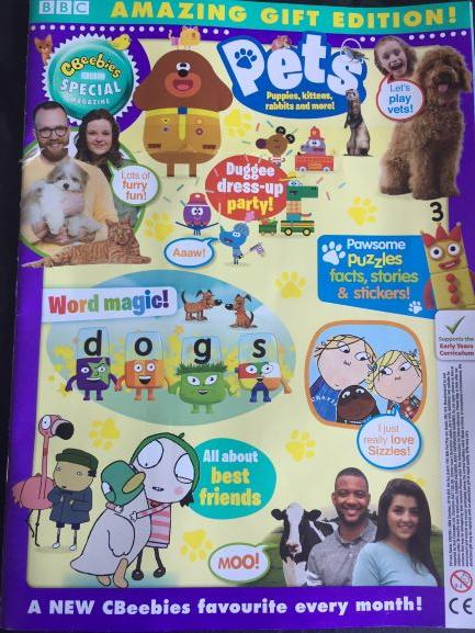 Cbeebies Special Gift Magazine - Issue 139 Ungifted Magazine 5 Minute Fun Shop