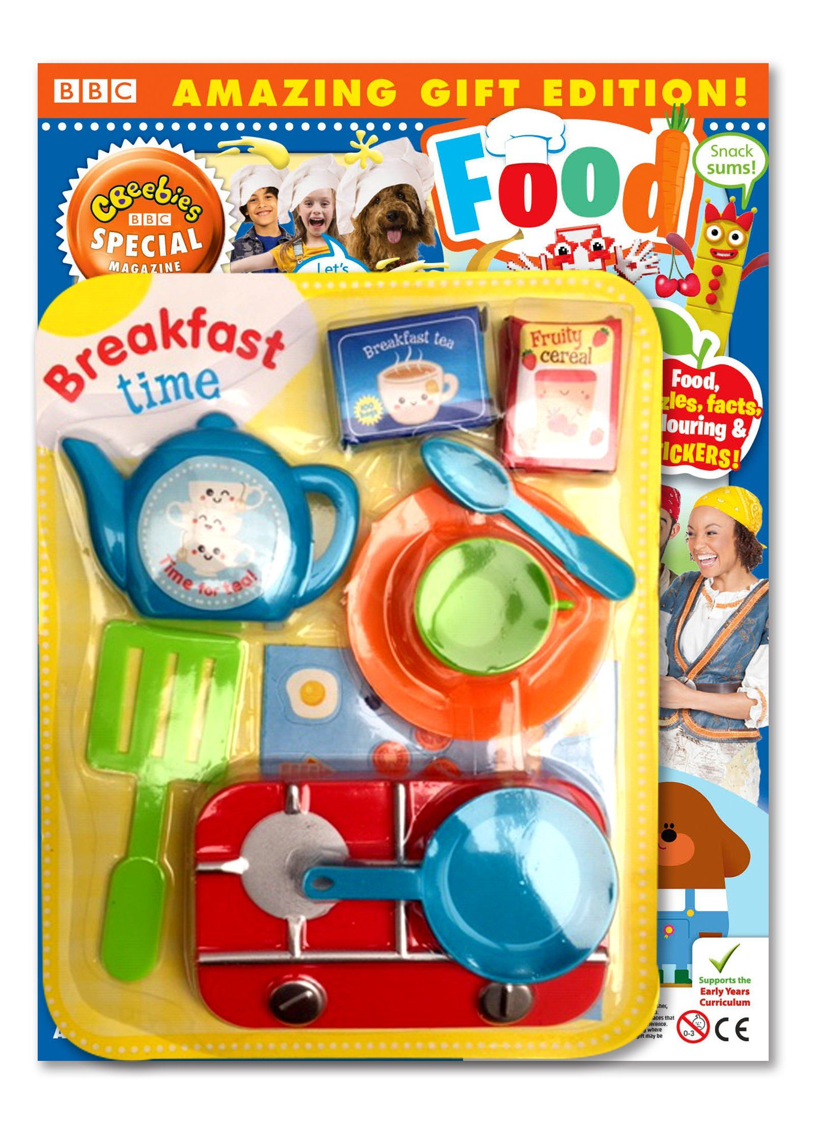 CBeebies Special Gift Magazine - Issue 140 Magazine 5 Minute Fun Shop