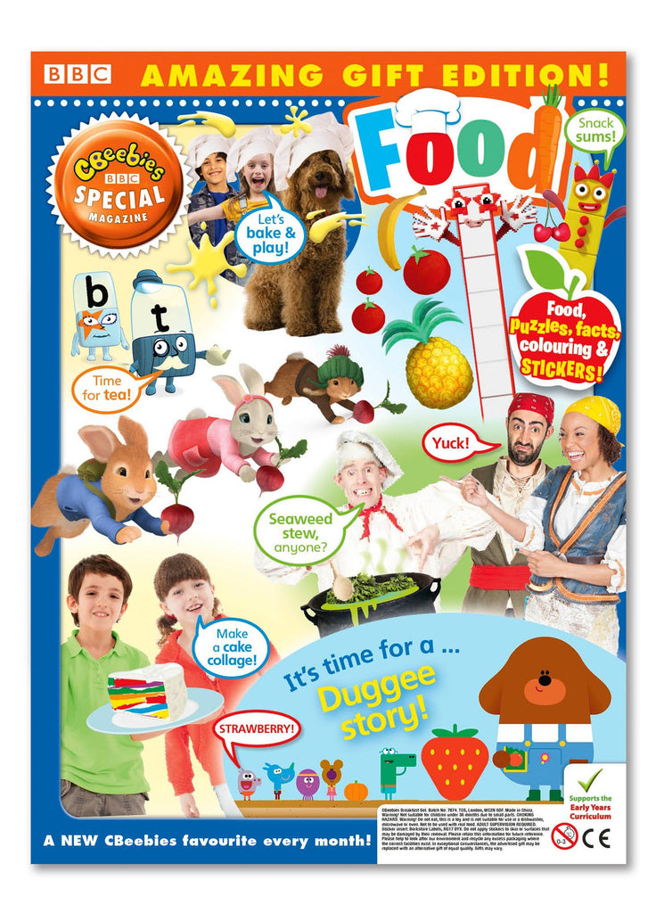 CBeebies Special Gift Magazine - Issue 140 Ungifted Magazine 5 Minute Fun Shop