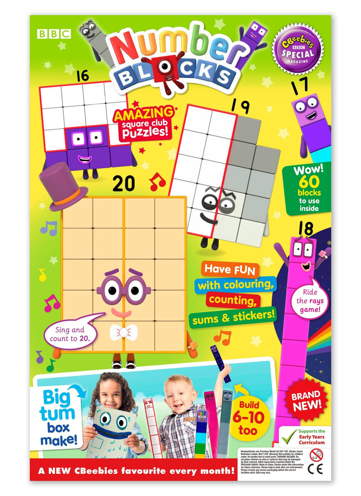 CBeebies Special Gift Magazine - Issue 143 Ungifted Magazine 5 Minute Fun Shop