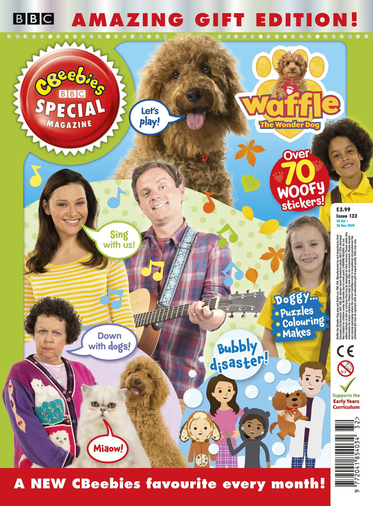 Cbeebies Special Magazine - Issue 132 Ungifted Magazine 5 Minute Fun Shop