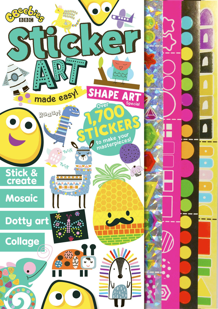 CBeebies Sticker Art Special Magazine IMC New Stock