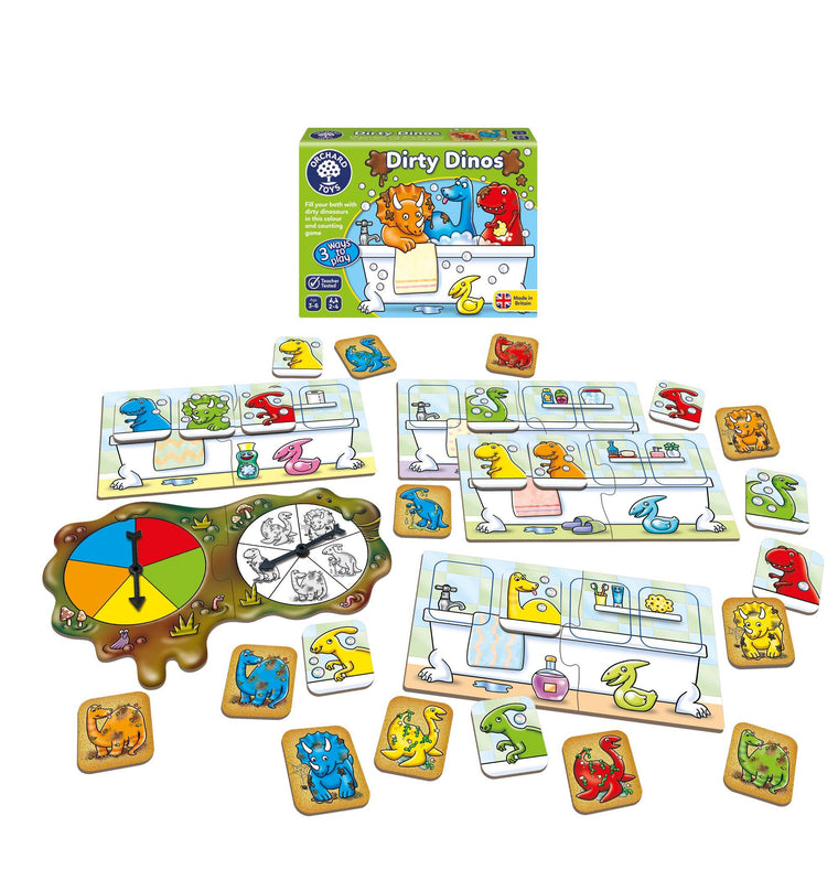 Dirty Dinos Game Game Orchard Toys