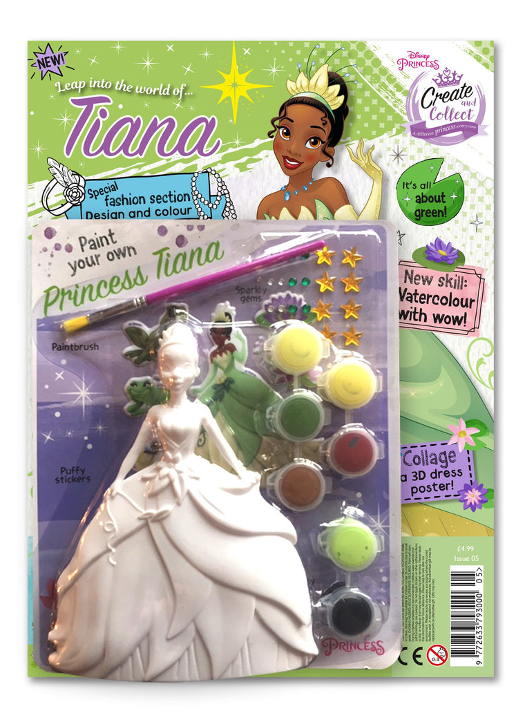 Disney Princess Create and Collect Issue 5 Magazine 5 Minute Fun Shop