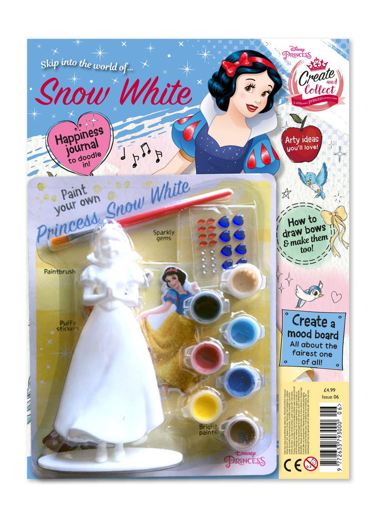 Disney Princess Create and Collect Issue 6 Magazine 5 Minute Fun Shop