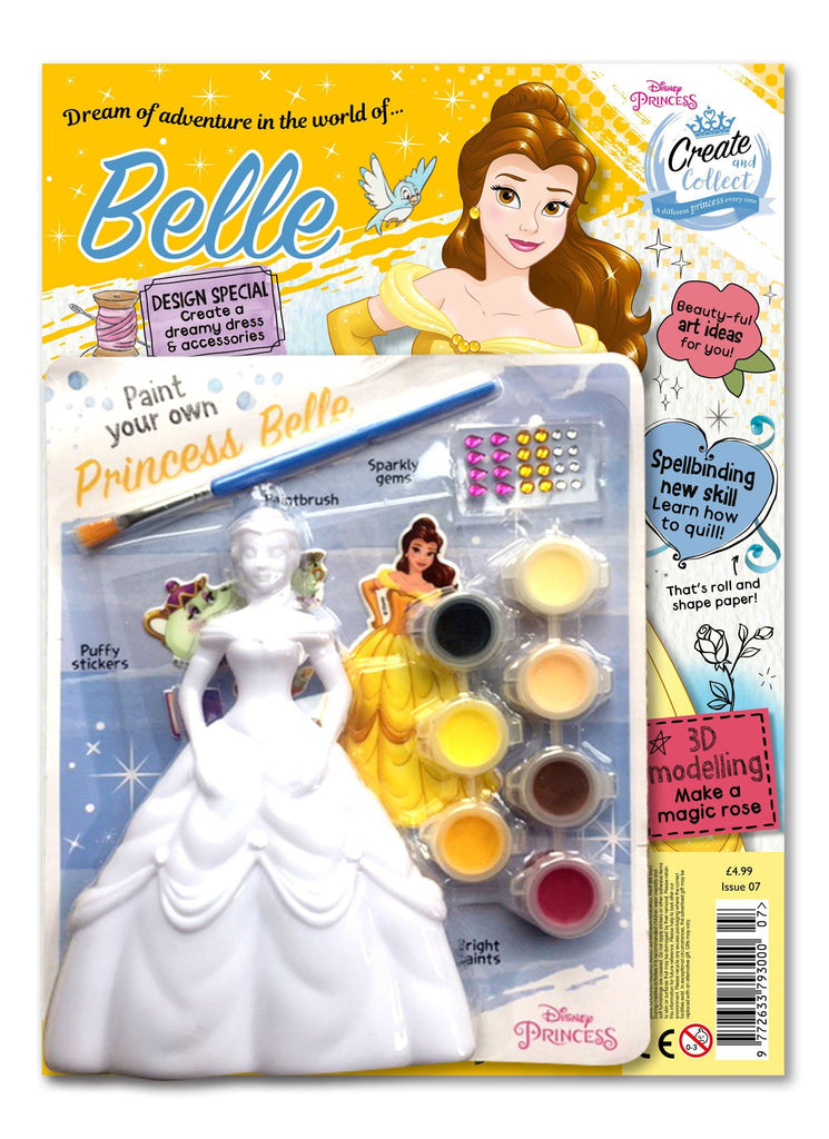 Disney Princess Create and Collect Issue 7 Magazine 5 Minute Fun Shop