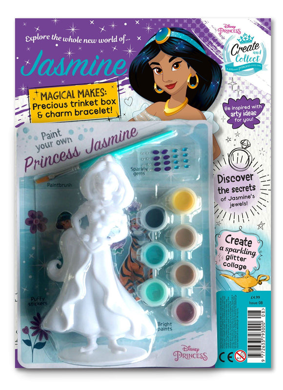Disney Princess Create and Collect Issue 8 Magazine 5 Minute Fun Shop