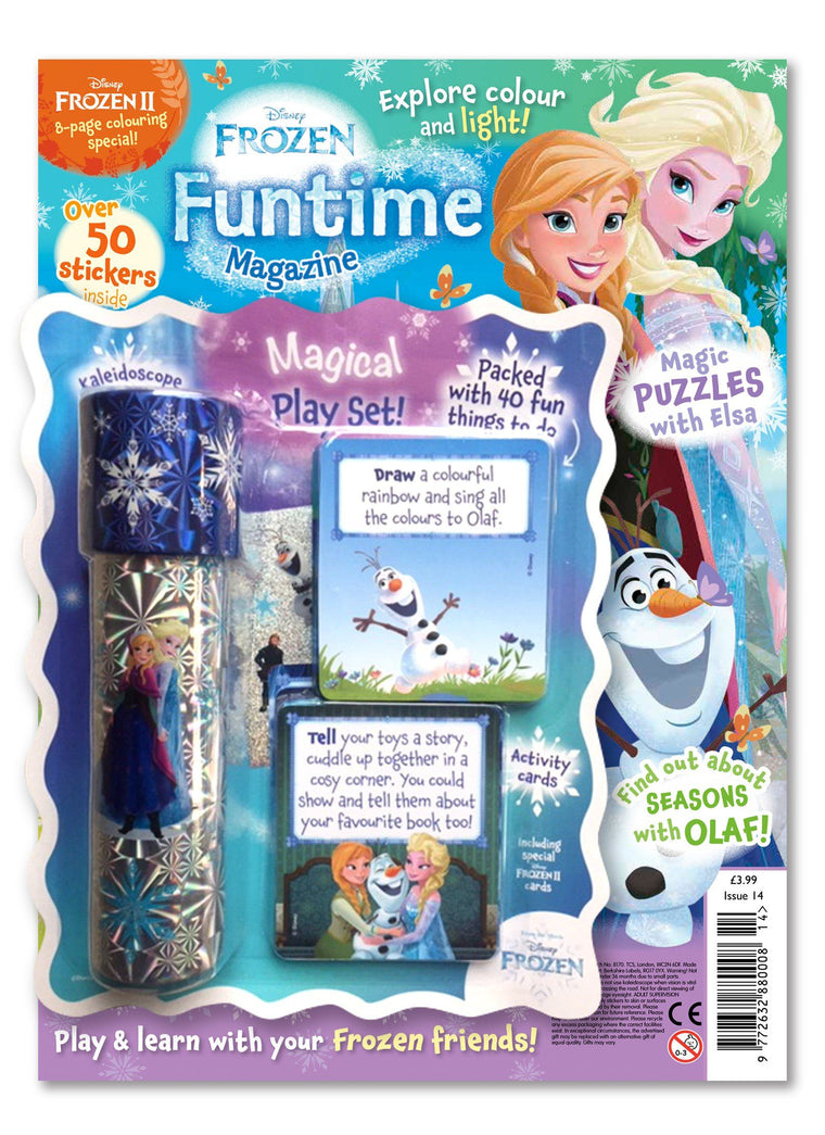 Frozen Funtime Magazine Issue 14 Magazine 5 Minute Fun Shop