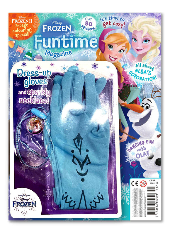 Frozen Funtime Magazine Issue 18 Magazine 5 Minute Fun Shop