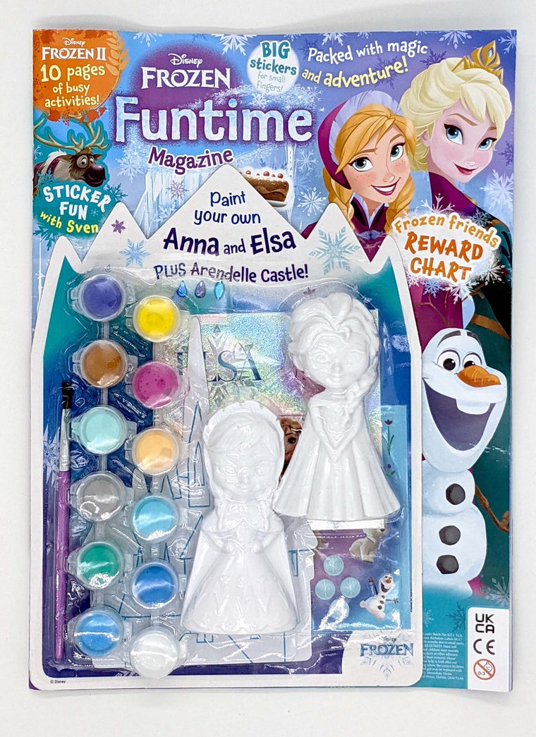 Frozen Funtime Magazine Issue 20 Magazine 5 Minute Fun Shop