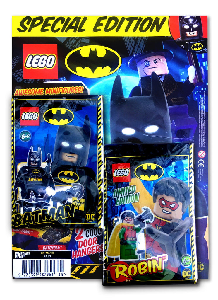 LEGO Batman Issue 12 Specials 8 Magazine 5 Minute Fun Shop