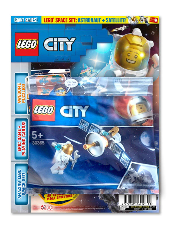LEGO City Giant Series #6 Magazine 5 Minute Fun Shop