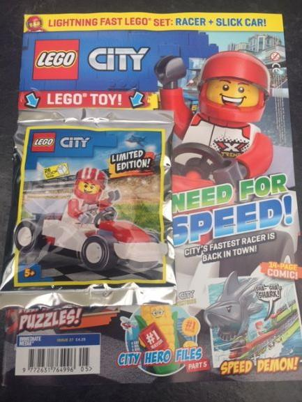 LEGO City Issue 27 Magazine 5 Minute Fun Shop