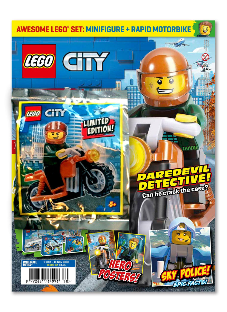 LEGO City Magazine Issue 32 Magazine 5 Minute Fun Shop