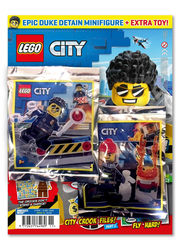 LEGO City Magazine Issue 33 Magazine 5 Minute Fun Shop