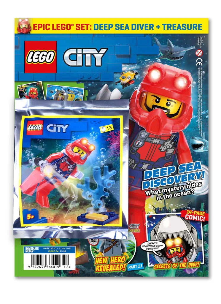 LEGO City Magazine Issue 34 Magazine 5 Minute Fun Shop