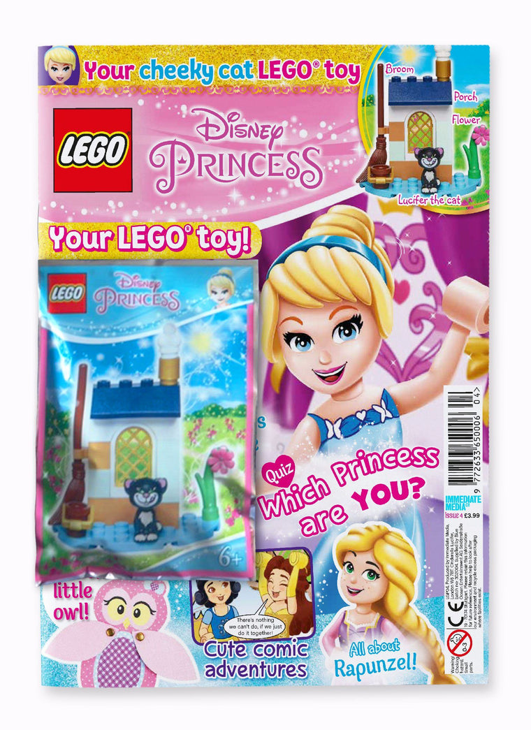 LEGO Disney Princess Issue 4 Magazine 5 Minute Fun Shop