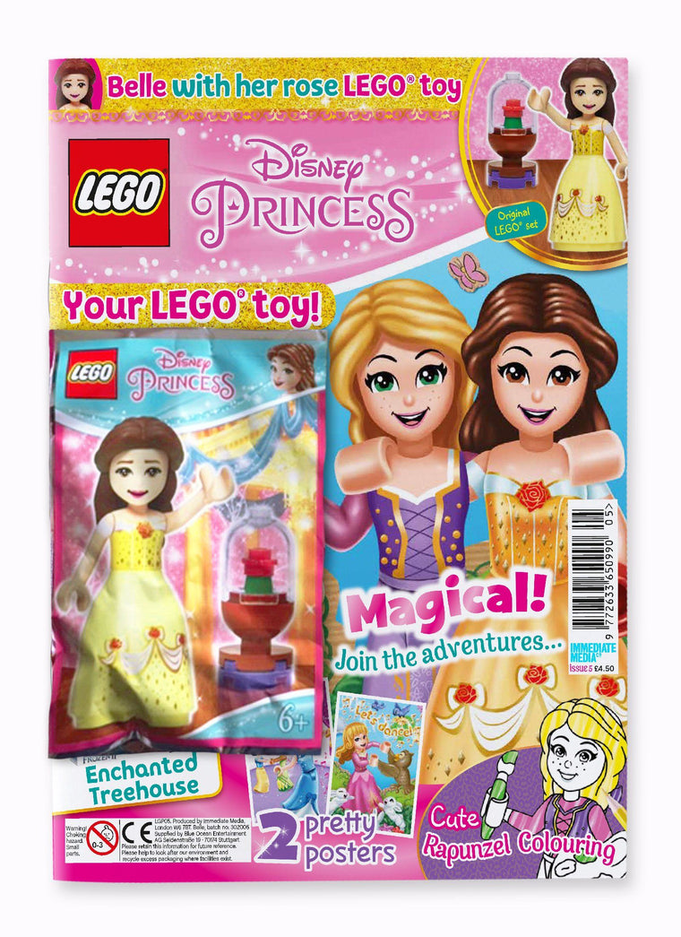 LEGO Disney Princess Issue 5 Magazine 5 Minute Fun Shop