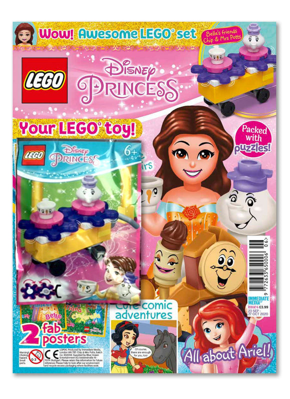 LEGO Disney Princess Issue 6 Magazine 5 Minute Fun Shop