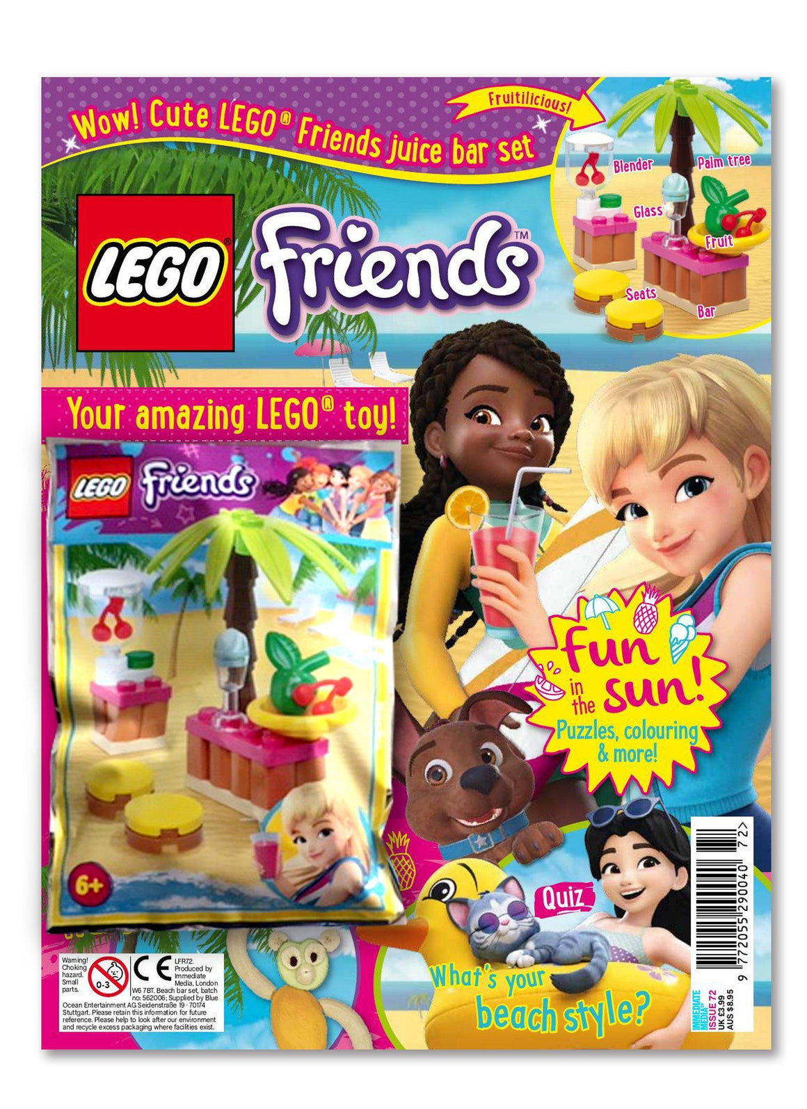 LEGO Friends Magazine Issue 72 Magazine 5 Minute Fun Shop