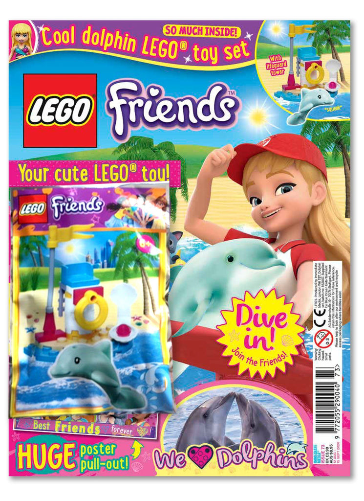 LEGO Friends Magazine Issue 73 Magazine 5 Minute Fun Shop