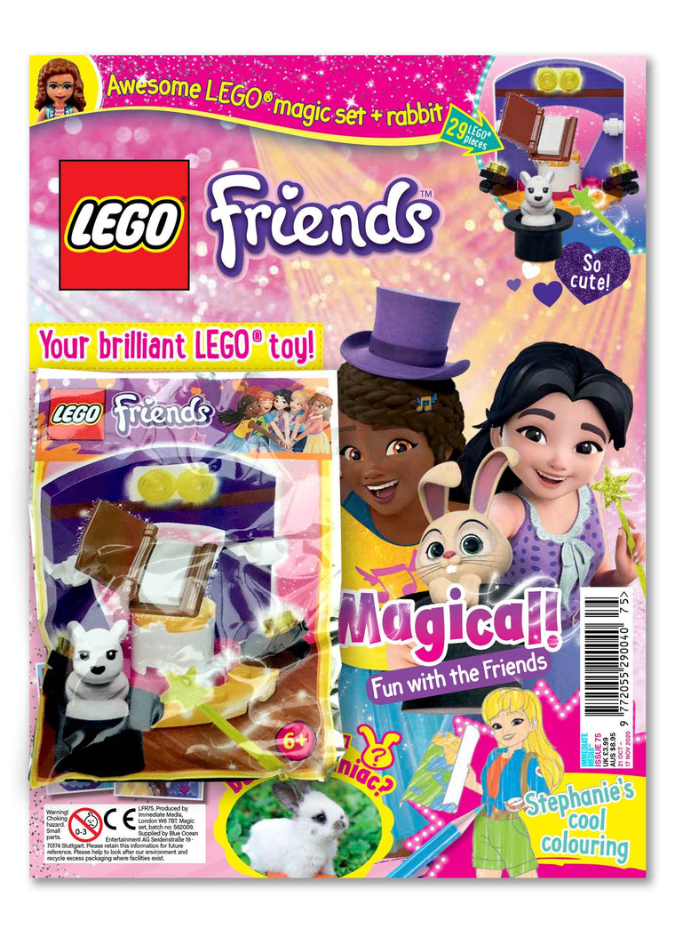 LEGO Friends Magazine Issue 75 Magazine 5 Minute Fun Shop