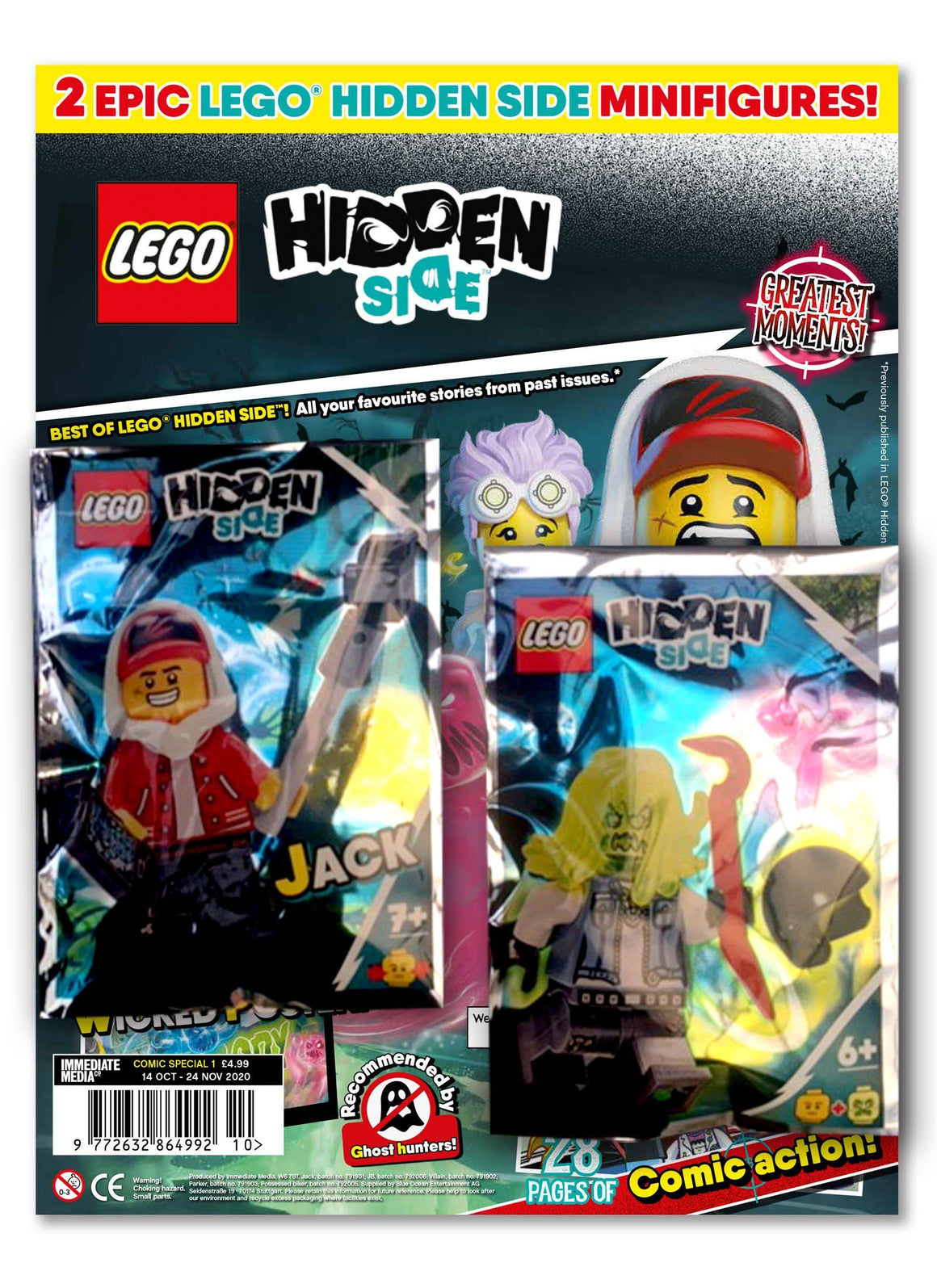LEGO Hidden Side Comic Special 1 Magazine 5 Minute Fun Shop