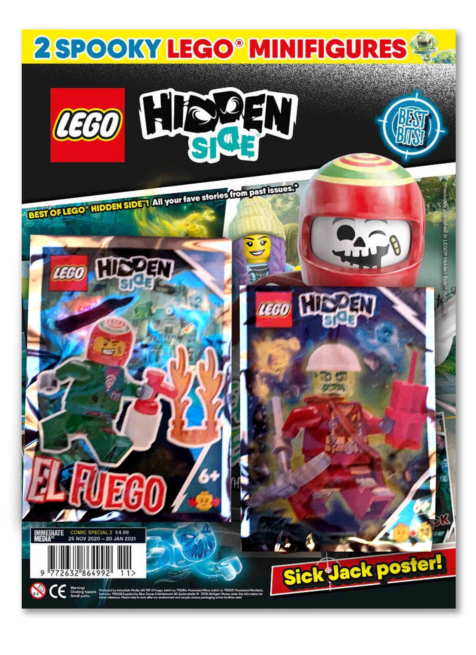 LEGO Hidden Side Comic Special 2 Magazine 5 Minute Fun Shop