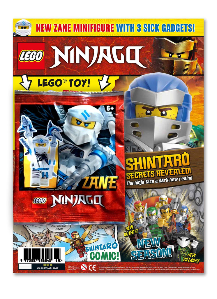 LEGO Ninjago Magazine Issue 65 Magazine 5 Minute Fun Shop