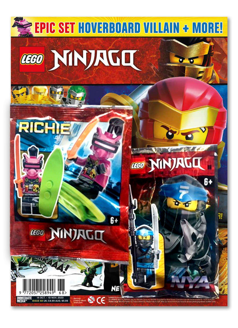 LEGO Ninjago Magazine Issue 68 Magazine 5 Minute Fun Shop